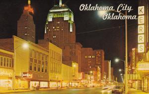 Main Street , Oklahoma City , Oklahoma , PU-1966