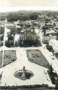 Romania Cluj Napoca piata libertatii vedere de sus Postcard