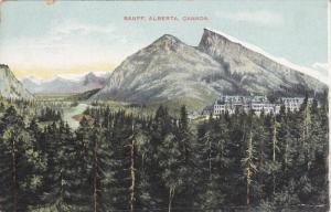 BANFF, Alberta, Canada, PU-1911; General View