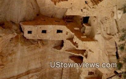 Square Tower Ruin - Mesa Verde National Park, Colorado CO