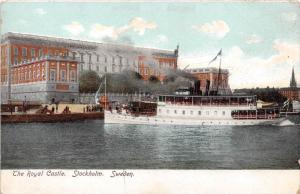 Sweden Stockholm The Royal Castle Lake Ferry