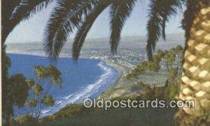 Pacific Ocean, Los Angeles, CA, CA USA Trains, Railroads Unused
