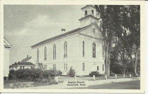 Mansfield, Mass., Baptist Church