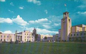 New Mexico Santa Fe State Capitol At Santa Fe The City Different
