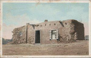 OLD ADOVE HOUSE Vintage Postcard