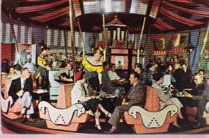 San Francisco Fairmont Hotel - La Ronde Bar (Merry-Go-Round)