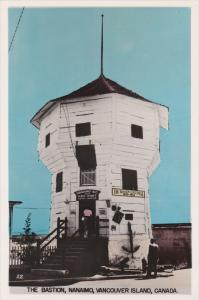 RP; Hand-colored, The Bastion, Nanaimo, Vancouver Island, British Columbia, C...