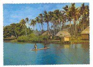 River & Village, Fiji 50-60s