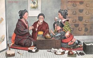 Life in Japan, Tea Drinking geishas