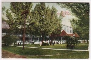 The Inn Winona Lake Indiana 1910c postcard