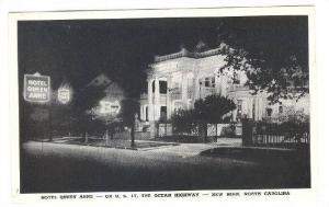 Exterior, Hotel Queen Anne, New Bern, North Carolina, 40-60s