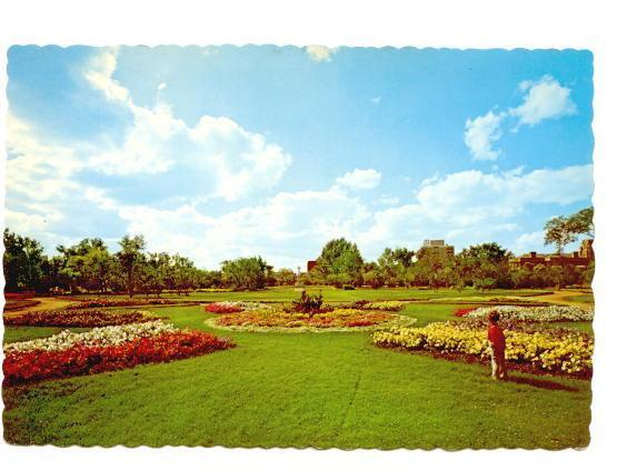 Flower Garden, Crescent Park, Moose Jaw, Saskatchewan, Photo Joe Fartak