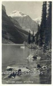 Lake Louise Canada, du Canada Mt Lefroy  Real Photo Mt Lefroy