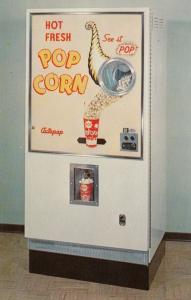 Popcorn Machine , AUTO-POP Co. , St Louis , Missouri , 50-60s