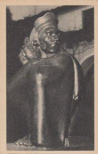 SAN DIEGO , California , 1920-30s; Montezuma Statue, San Diego State College