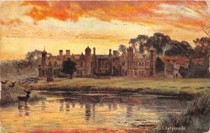 B92159 Warwick  Charlecote  uk painting postcard