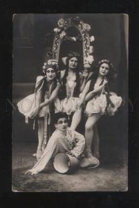 069431 Russian BALLET KRUGER Stars as HORSES vintage PHOTO