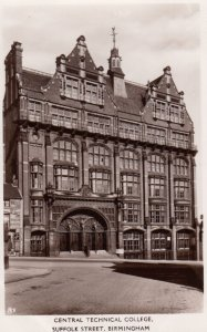 RP: BIRMINGHAM , England , 1910-30s ; Central Technical College