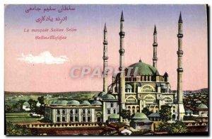 Old Postcard The Sultan Mosque Seilm
