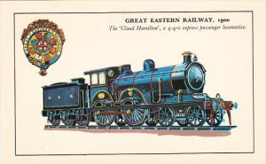 England Great Eastern Railway 1900 Claud Hamilton 4-4-0 Express Passenger Loc...