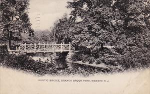 Rustic Bridge, Branch Brook Park, Newark, New Jersey, PU-1905