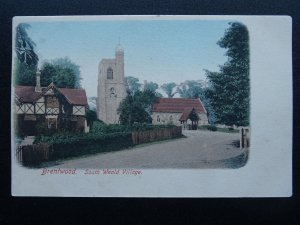 Essex BRENTWOOD South Weald Church & Village c1907 Postcard by Frith