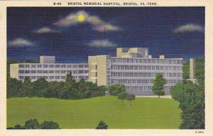 Bristol Memorial Hospital, Briston, Virginia- Tennessee, 1930-1940s