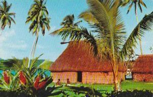 Fiji Fijian Bure House