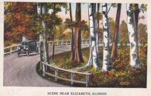 Illinois Scene Near Elizabeth 1921