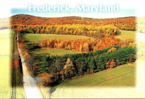 Maryland Frederick Rolling Hills and Scenic Landscape