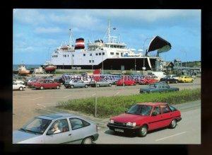 FE2611 - Danish Ferry - Holger Danske , built 1976 - postcard