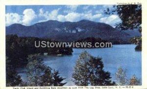 Rumbling Bald Mountain in Lake Lure, North Carolina