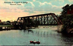 Connecticut Norwich Shetucket River and Railroad Bridge