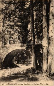 CPA GERARDMER Saut des Cuves - Pont des Fees (401048)