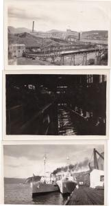 Corner Brook Pulp & Paper Newfoundland 3x Old Canada Photo s