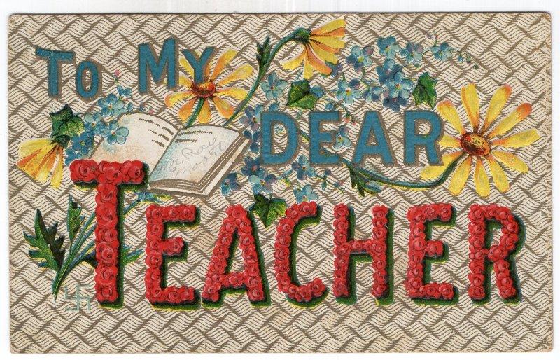 To My Dear TEACHER