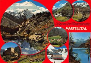 Italy Grusse aus dem Wanderparadies Martelltal Cevedale Val Venosta Postcard
