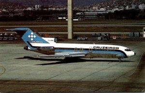 CRUZEIRO do Sul SA Boeing 727-C3 At Rio De Janeiro International