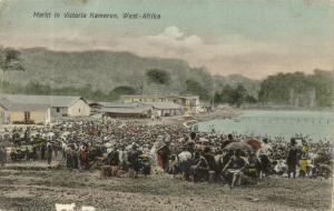 German W.A., Cameroon, VICTORIA, Market Scene (1910s)