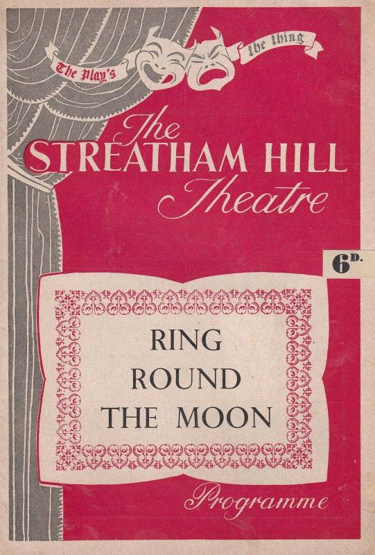 Ring Round The Moon Peter Martin Last Of The Summer Wine 1950s Theatre Programme