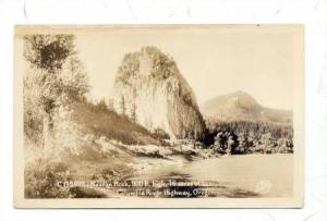 RP, Beacon Rcok, 900 ft. high, 16 acres at base, Columbia River Highway, Oreg...