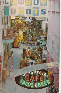 Mexico Tijuana Pasajes Gomez Shopping Area 1970 sk7485