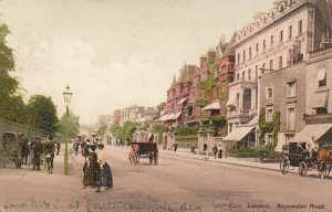 LONDON , England , UK , 1906 ; Bayswater Road