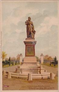 Columbia Monument Tower Grove Park St Louis Missouri Private Mailing Card