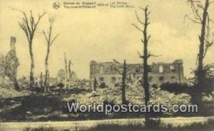 Les Halles, Belgium, België, la Belgique, Belgien Ruines de Nieuport Les Hal...