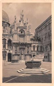 Italy Old Vintage Antique Post Card Venezia Palazzo Ducale 1930