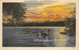 Greetings from Lake Huntington NY Unused