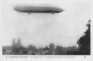 Locomotion Aerienne Le Zeppelin II Zeppelin Unused