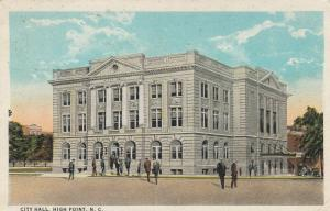 HIGH POINT , North Carolina , 1924 ; City Hall