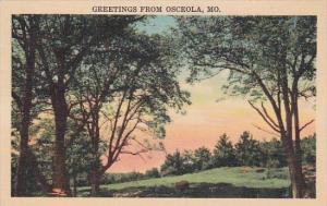 Greetings From Osceola Missouri